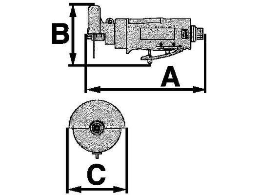 Laikkaleikkuri 80 mm, Luna ACO80 R