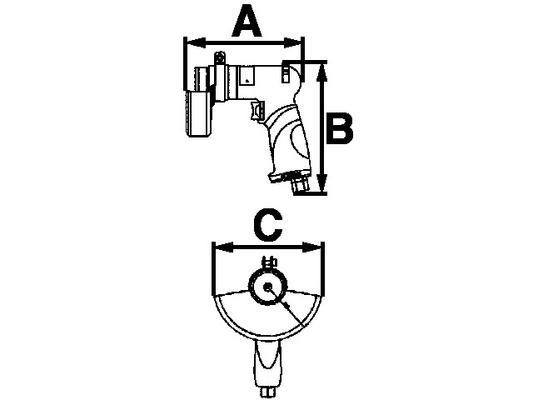 Kulmahiomakone 115/125 mm, Luna AHSS 16
