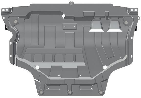 Pohjapanssari Skoda Octavia (2012-)