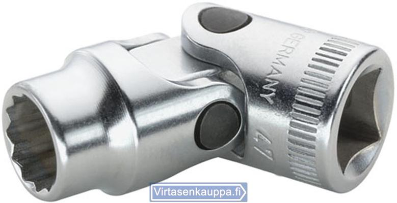 "Nivelhylsyavain 3/8"", Stahlwille 47 - Avainväli 10 mm, pituus 45,5 mm"