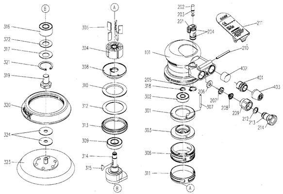 Epäkeskohiomakone Luna AEX12
