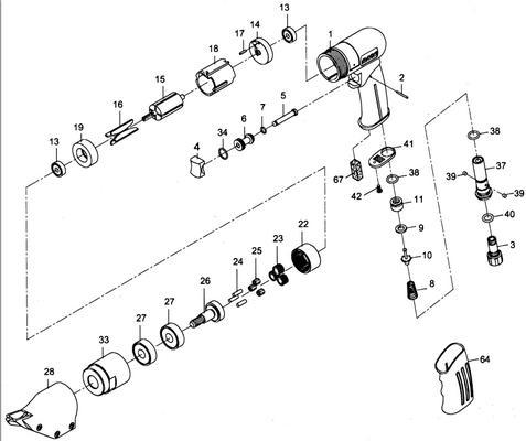 Käsilevysakset, paineilmakäyttöiset Luna AS1.2