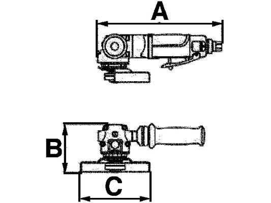 Kulmahiomakone 115 mm, Luna AAG115