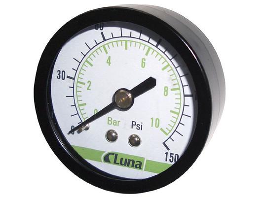 Tarvikkeet Lunan ilmalaitteisiin: painemittari 40 mm - Painemittari 40 mm