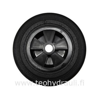 Kovakumipyörä 200x50 muovivanne (9001)