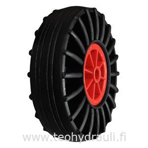 Täyskumipyörä 260x85 muovivanne (keskiö: 21x73 mm)