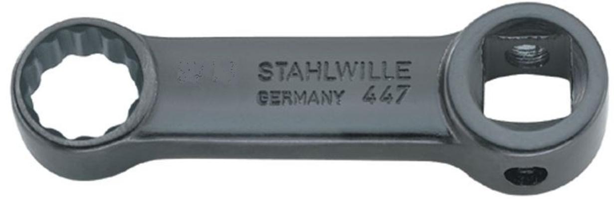 Silmukka- ja hylsyavain, Stahlwille - Silmukka-avain 7 mm