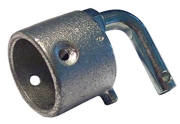 Puomin päätyhela kulmaruuvilla Böckmann hevostraileriin - Puomin päätyhela kulmaruuvilla Böckmann hevostraileriin