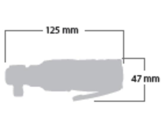 """Räikkäväännin 3/8"""", Shinano 1108B Mini"""
