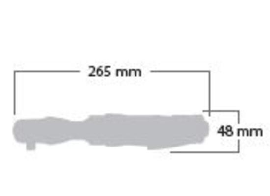 """Räikkäväännin 3/8"""", Shinano 1340B - Räikkäväännin 3/8"""