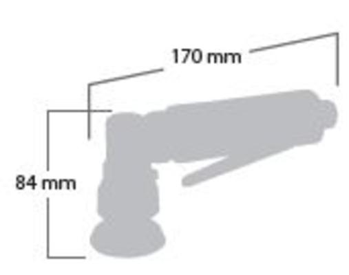 Epäkeskohiomakone 50 mm (tarra), Shinano - Epäkeskohiomakone 50 mm (tarra)