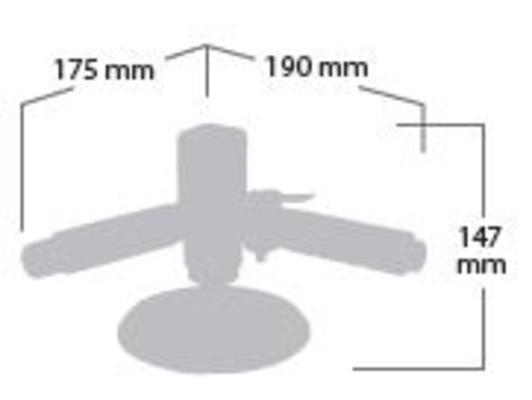 Kiillotuskone 150 mm, Shinano 2405 - Kiillotuskone 150 mm