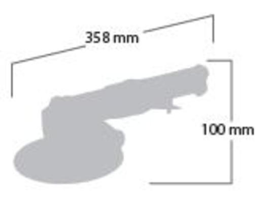 Kiillotuskone 180 mm, Shinano 2451 - Kiillotuskone 180 mm