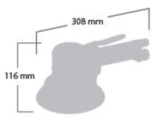 Epäkeskohiomakone 150 mm (tarra), Shinano 3118 - Epäkeskohiomakone 150 mm (tarra)