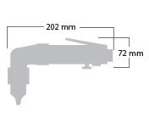 Kulmaporakone 10 mm, Shinano 5355 - Kulmaporakone 10 mm