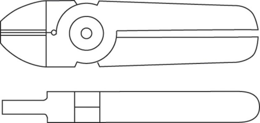 Leikkurin (MR30A ja MR35A) terä CR8P, Muromoto - Leikkurin (MR30A ja MR35A) terä