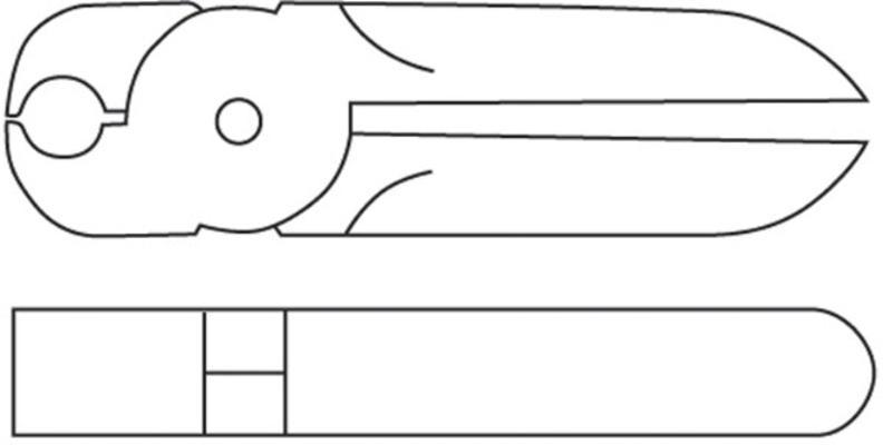 Leikkurin (MR30A ja MR35A) terä EP10P, Muromoto - Leikkurin (MR30A ja MR35A) terä EP10P