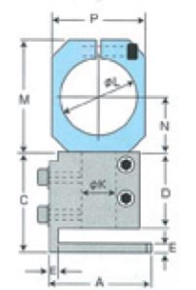 Pöytätuki MR30A-leikkurille, Muromoto - Pöytätuki leikkurille