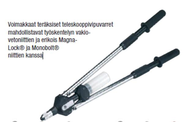 Vetoniittipihti 4,0 - 8,0 mm, Masterfix