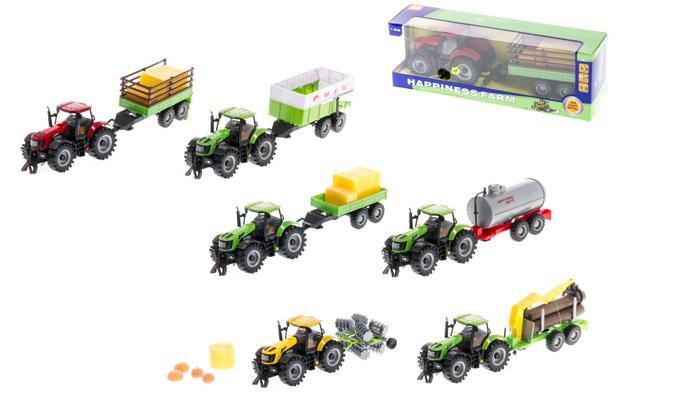 Leikkitraktori ja peräkärry  - Leikkitraktori ja peräkärry