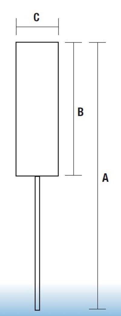 Pallohooni - reikä 18 mm, Osborn - Pallohooni - reikä 18 mm