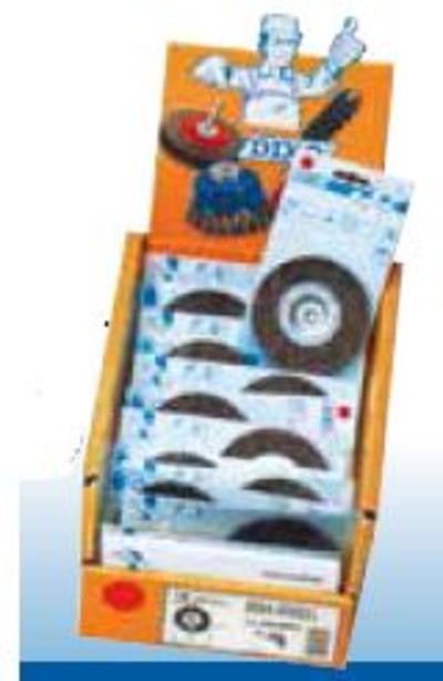 Pyörökaraharja 50 mm (aallotettu), Osborn                1 - Pyörökaraharja 50 mm (aallotettu)