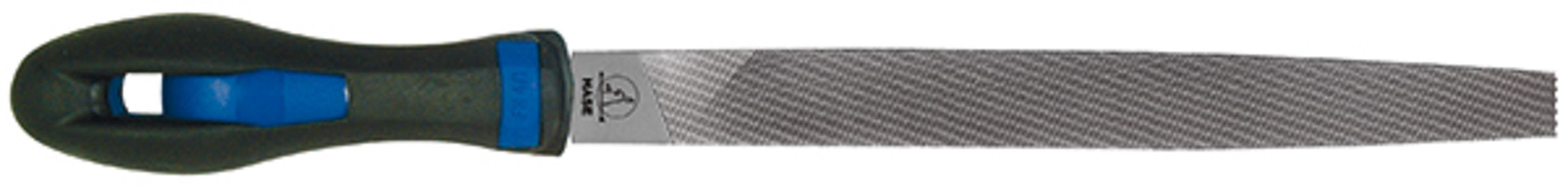 Lattaviila, 2K-kahva - Hase - 150 mm / puolikarkea