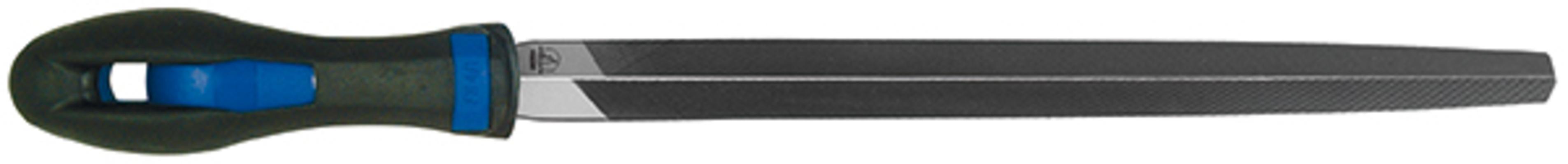 Kolmioviila, 2K-kahva, Hase - 150 mm / puolikarkea