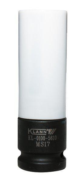Vannehylsy suojalla 17 mm, W204 Convex - Vannehylsy