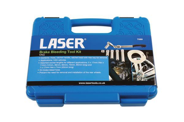 Jarrujen ilmaussarja VAG, Laser - Jarrujen ilmaussarja VAG, Laser