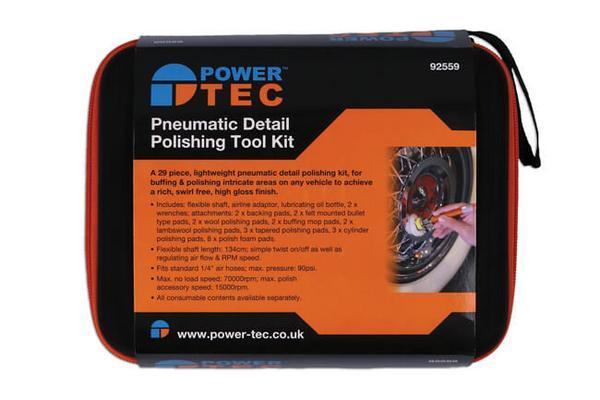 Pneumaattinen kiillotustyökalusarja, Power Tec