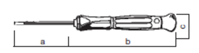 Tarkkuusruuvitaltta 3,0 (60 mm), ESD-suojattu - Felo