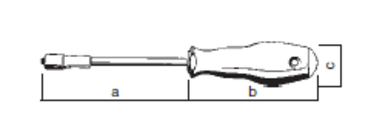 Ruuvitaltta M-Tec 4,0 (200 mm), Felo 500
