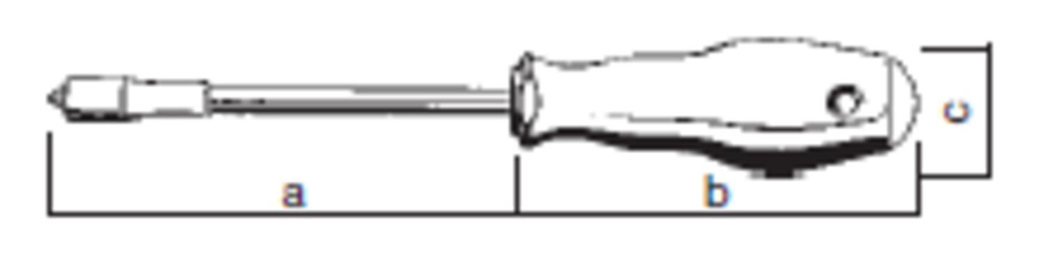 Ruuvitaltta M-Tec PH2 (200 mm), Felo 500