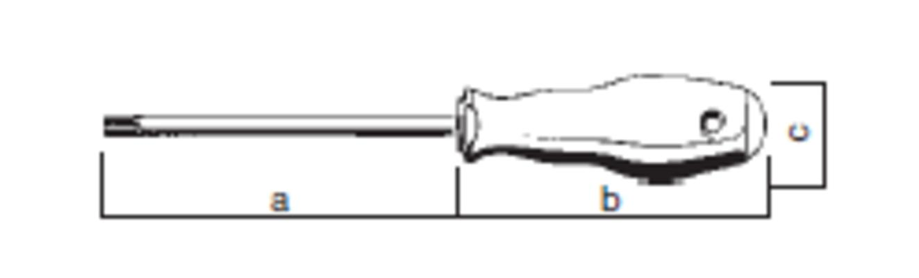 Torx-ruuvitaltta T8, Felo 500