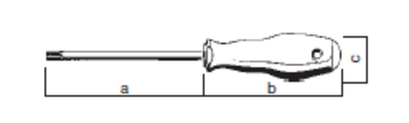 Torx-ruuvitaltta T25, Felo 500