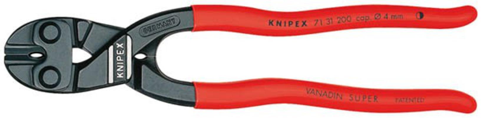 Pulttisakset 200 mm avarruksella, Knipex - Pulttisakset avarruksella, 200 mm