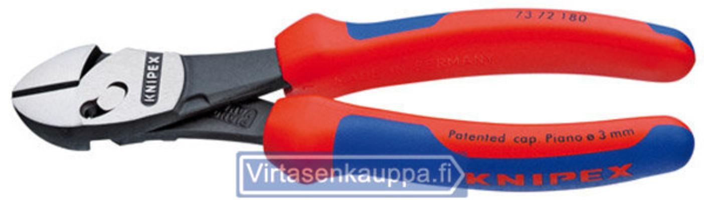 Voimasivuleikkurit 180 mm, kaksoisnivelellä, Knipex