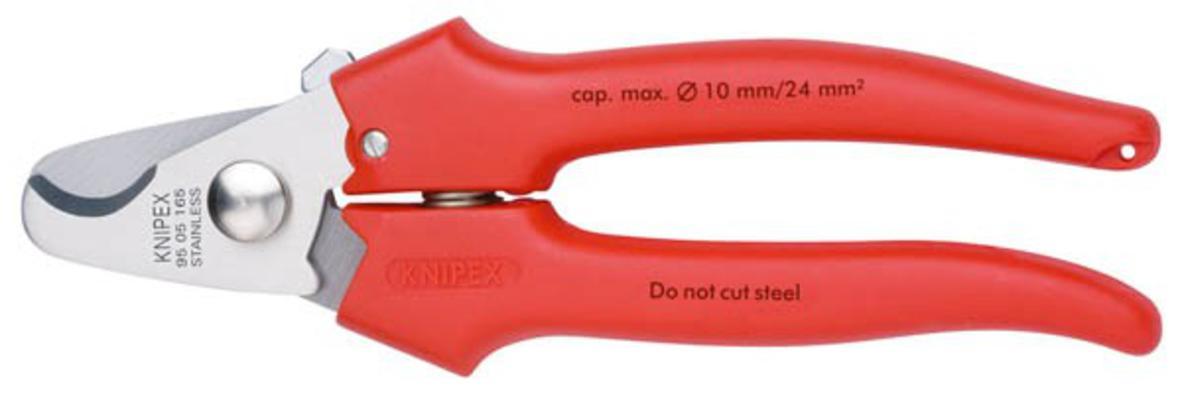 Kaapelileikkurit 165 mm, Knipex