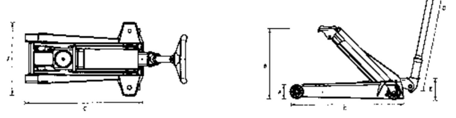 Hallitunkki 12 t, AC - Hydraulinen hallinostin (12 t)