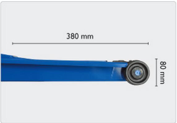 Hallitunkki 1,3 t, AC - Hydraulinen hallinostin (1300 kg)