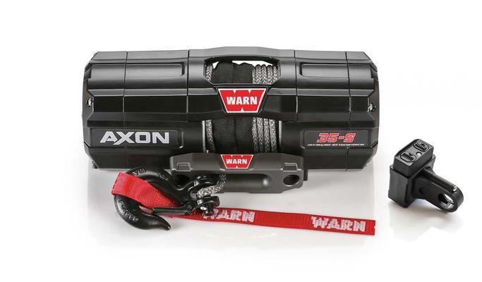 Sähkövinssi Warn |12V | 1588 kg - Sähkövinssi 12V Axon 35-S, Warn