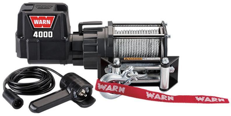 Sähkövinssi Warn   12 V   1814 kg - Sähkövinssi 12 V 4000 DC, Warn