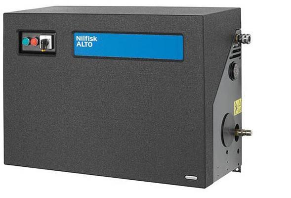 Kiinteä painepesuri 200 bar / 400 V, Nilfisk - Kiinteä painepesuri 200 bar / 400 V