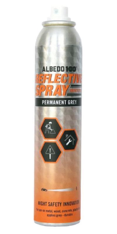 Heijastinsuihke koville pinnoille (industrial) 200 ml, Albedo100
