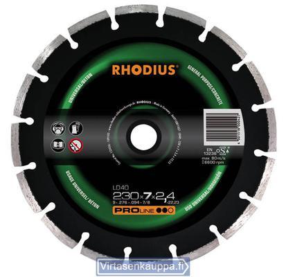 Timanttilakka LDW40 350 x 7 x 2,8 x 25,4 mm, Rhodius - Timanttilaikka 350 x 2,8 x 25,4 mm