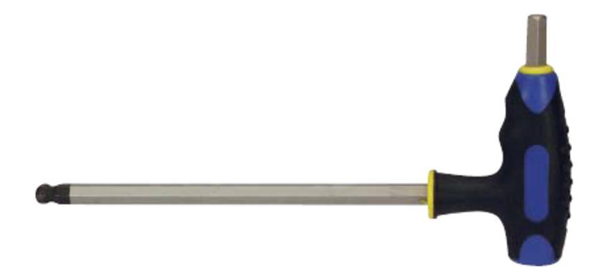 Kuusiokoloavain 6,0 mm, L-kahva - King Pro Tools