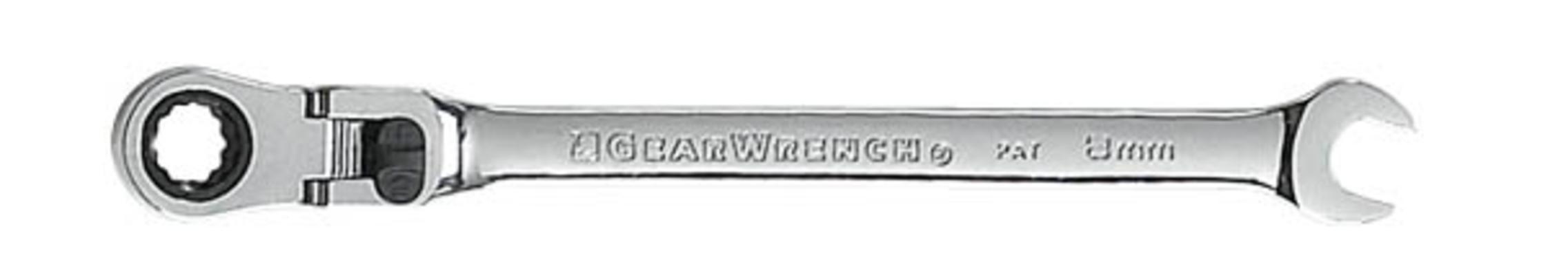 Erikoispitkä räikkälenkkiavain nivelellä - GearWrench - Räikkälenkkiavain 8 mm
