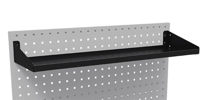 Hylly reikälevyyn, Boxo - Hylly reikälevyyn 861 mm, Boxo