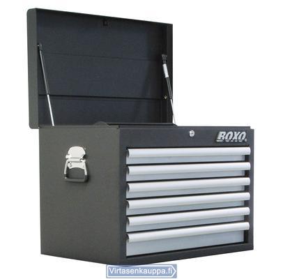 Työkalulaatikosto, 6 laatikkoa, Boxo - Työkalulaatikosto
